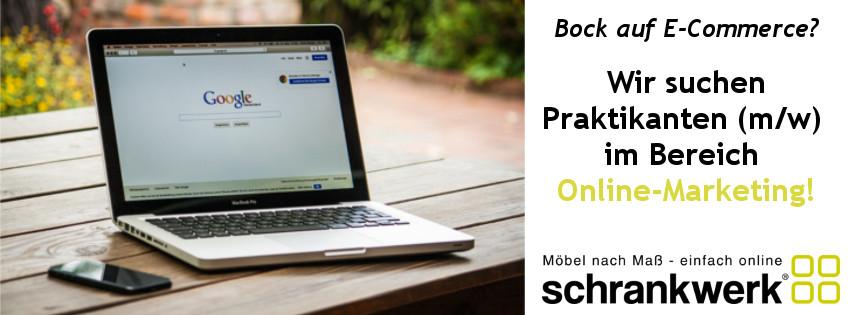 Wir suchen: Praktikant (m/w) im Online-Marketing!