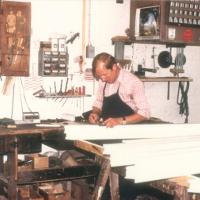 Kunsstoffensterproduktion der Tischlerei Dickmänken