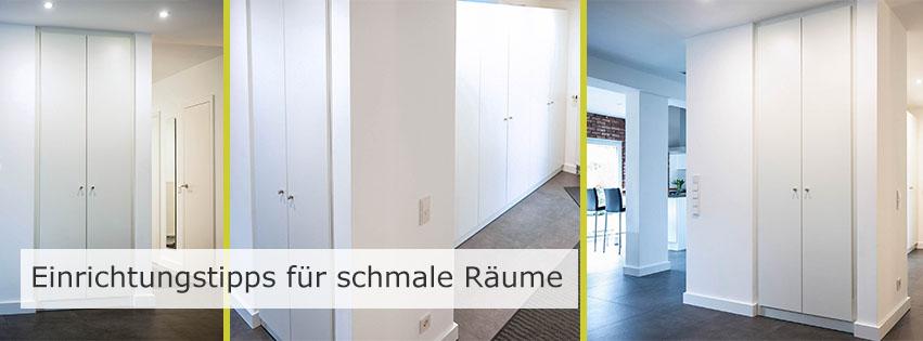 Planungstipps für schmale Räume