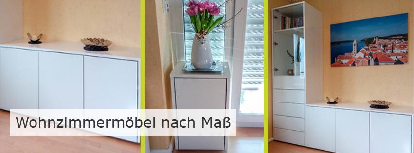Wohnzimmereinrichtung nach Maß - schöne und praktische Möbel für jeden Geschmack